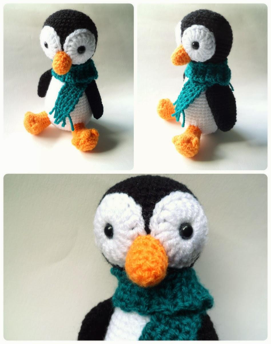 Pingüino | AMIGURUMIES