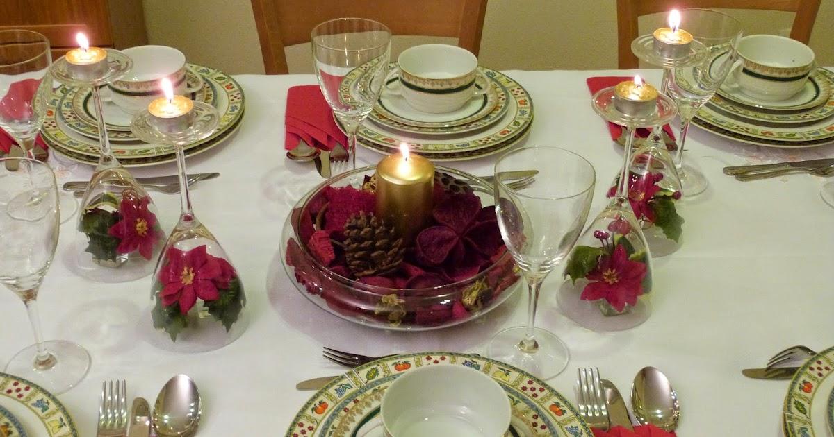 Espe saavedra en la cocina consejos navide os - Decoracion mesa nochevieja ...