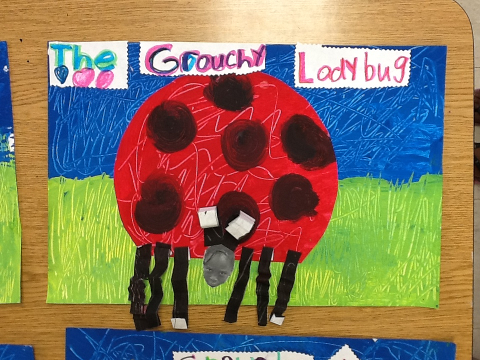 """WHAT'S HAPPENING IN THE ART ROOM??: 1st Grade """"The Grouchy ..."""