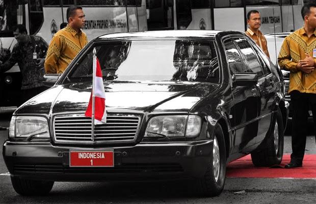 Mobil Presiden Soeharto