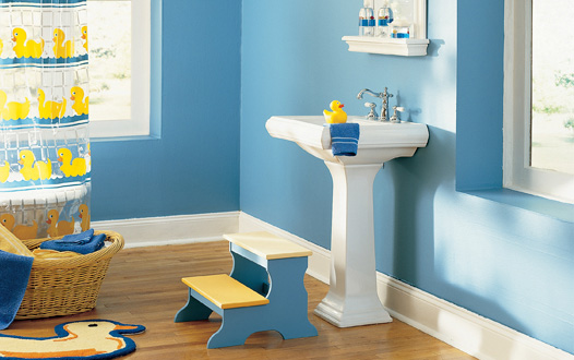 Home quotes 11 bathroom designs for kids and teens for Bathroom decor ideas for kids