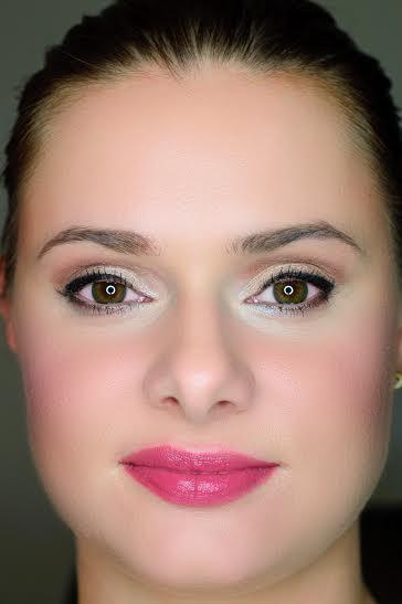 Jesienny makijaż -  ciemne usta - smoky eye