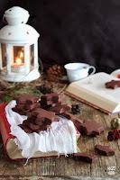 Galletas de turrón y chocolate