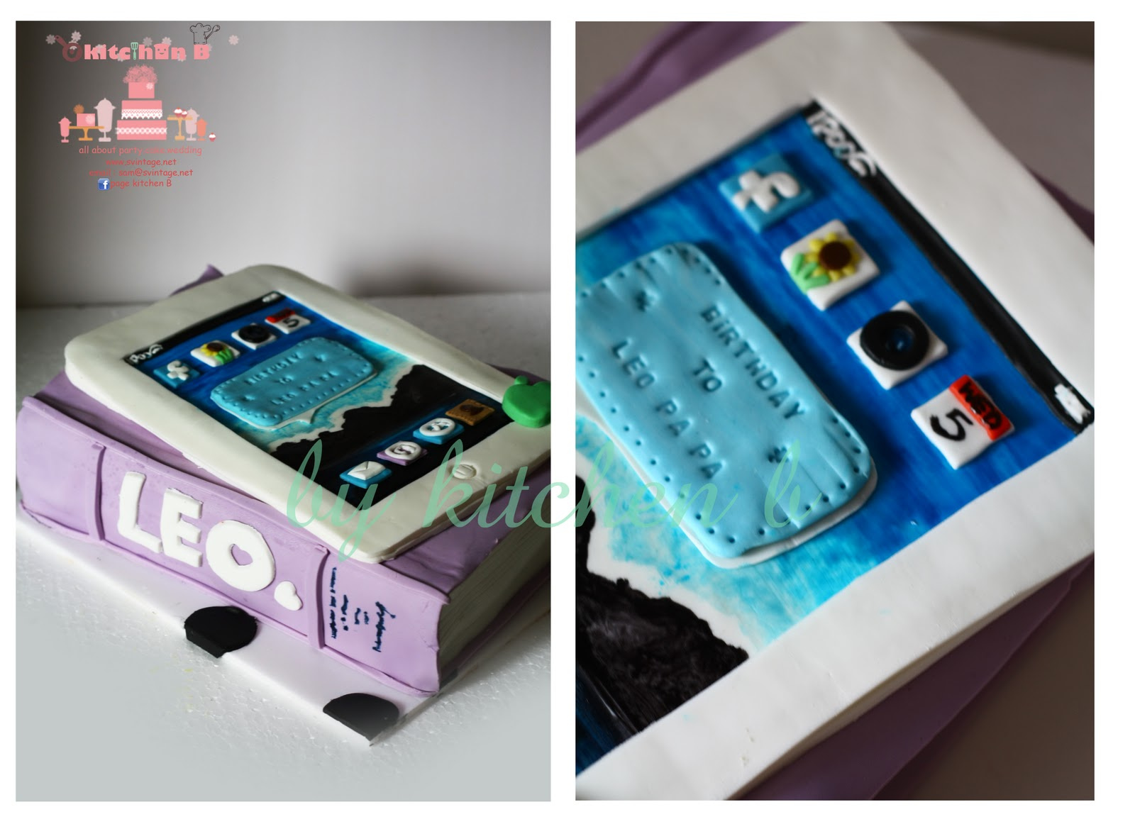 Kitchen B Ipad Cake