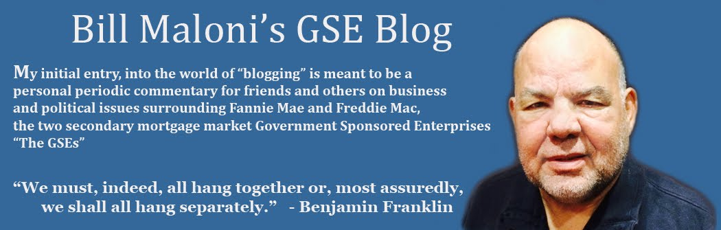 Bill Maloni's GSE Blog