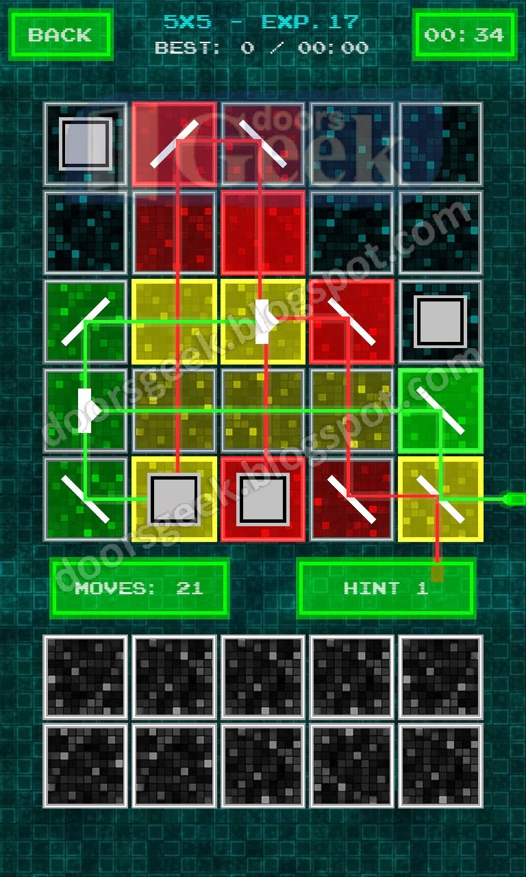 Laser+Puzzle+Experiments+%255BCyan+5x5%255D+ +Level+17 Puzzle Game From Cyan