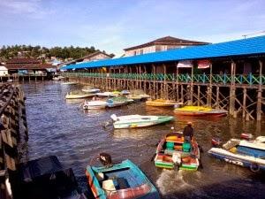Kampung Atas Air Margasari Balikpapan