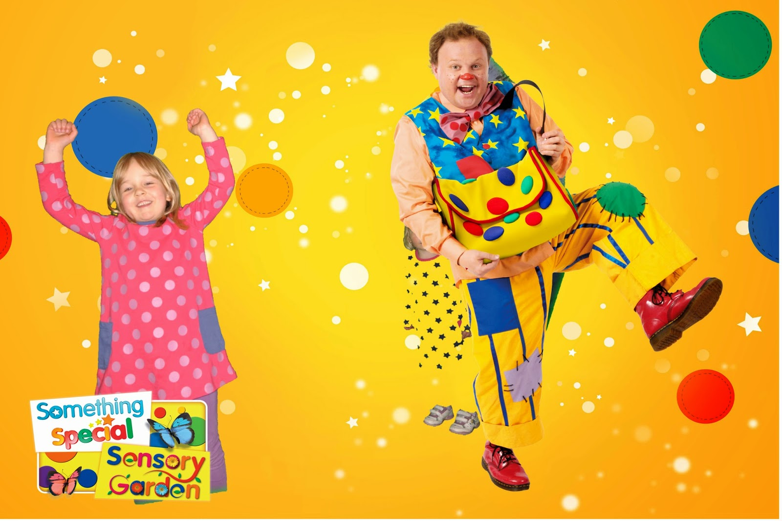 Mr. Tumble at CBeebies Land