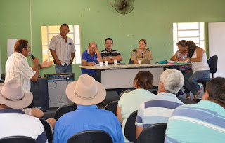 Capitã Myrelle se reúne com representantes de comunidades rurais de Itapetim
