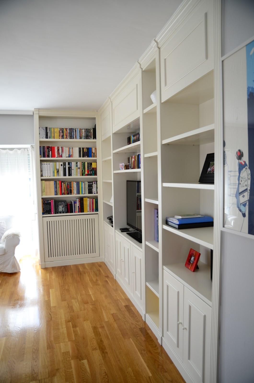 Librerias a medida madrid muebles librerias lacadas de for Libreria muebles