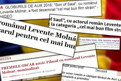 Saul fia, Molnár Levente, Oscar-díjak, Times New Roman, szatíra, humor,
