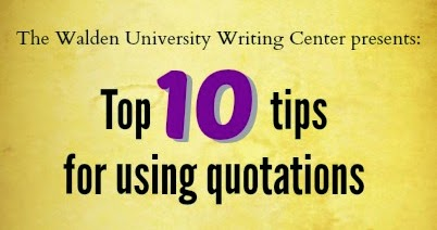 walden university writing center Walden university writing center where instructors and editors talk writing avoiding unintentional plagiarism tuesday, july 13, 2010 paraphrasing , plagiarism 3 comments by amber cook, senior writing specialist a specific image comes to.