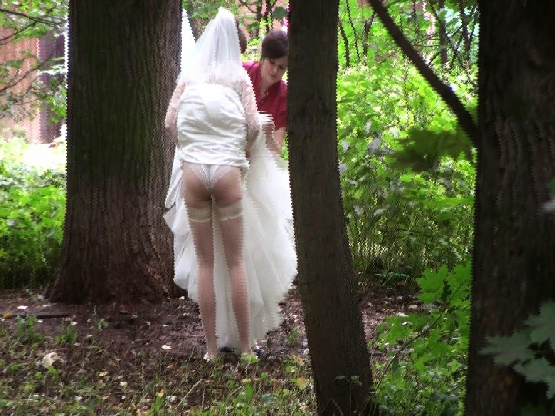 outdoor wedding pissing voyeur