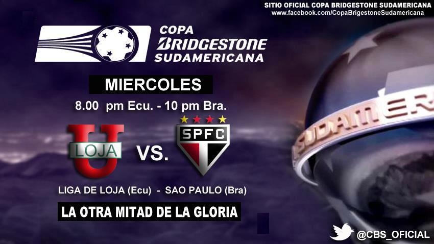Partido Liga de Loja vs Sao Paulo en Vivo por Fox Sports