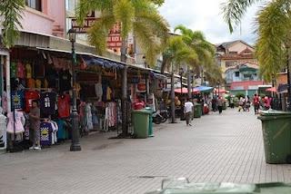 India Street, Bagunan Electra, Jalan Gambir, Main Bazaar