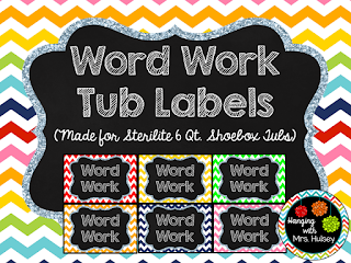 https://www.teacherspayteachers.com/Product/Word-Work-Chevron-Rainbow-Tub-Labels-1987495