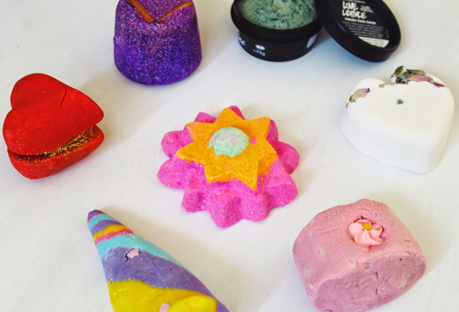 lushhaul, lushhauljanuary2015, halcyonvelvet, fbloggers, unicornhorn, lovelettuce, lushreview, bbloggers, beauty, beautybloggers, asseenonme, phoenixrising, floatingflower, creamycandybath, tistytosty, heartthrob,