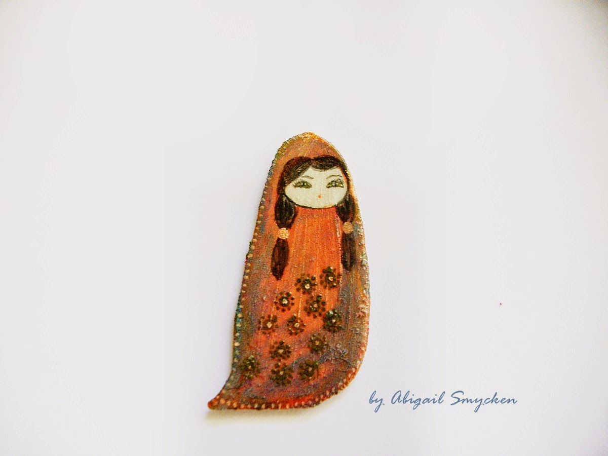 alien, handmade, brooch, geeky, cute, kawaii,