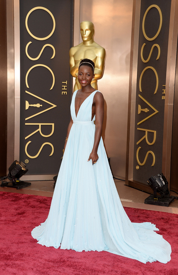 Lupita Nyong'o's Oscar 2014 Dress by: Prada