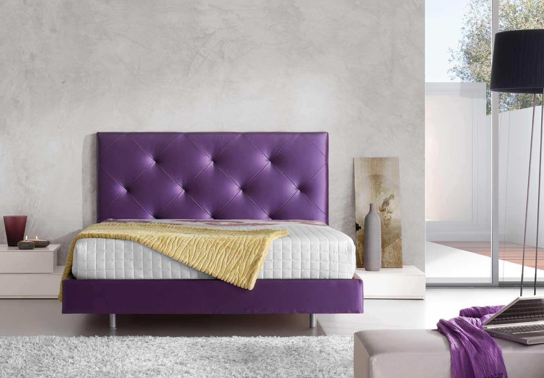 Dormitorios con cabeceros tapizados camas tapizadas - Cama con cabecero ...