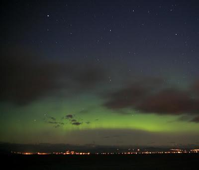 Auroras boreales 01 de Julio de 2012