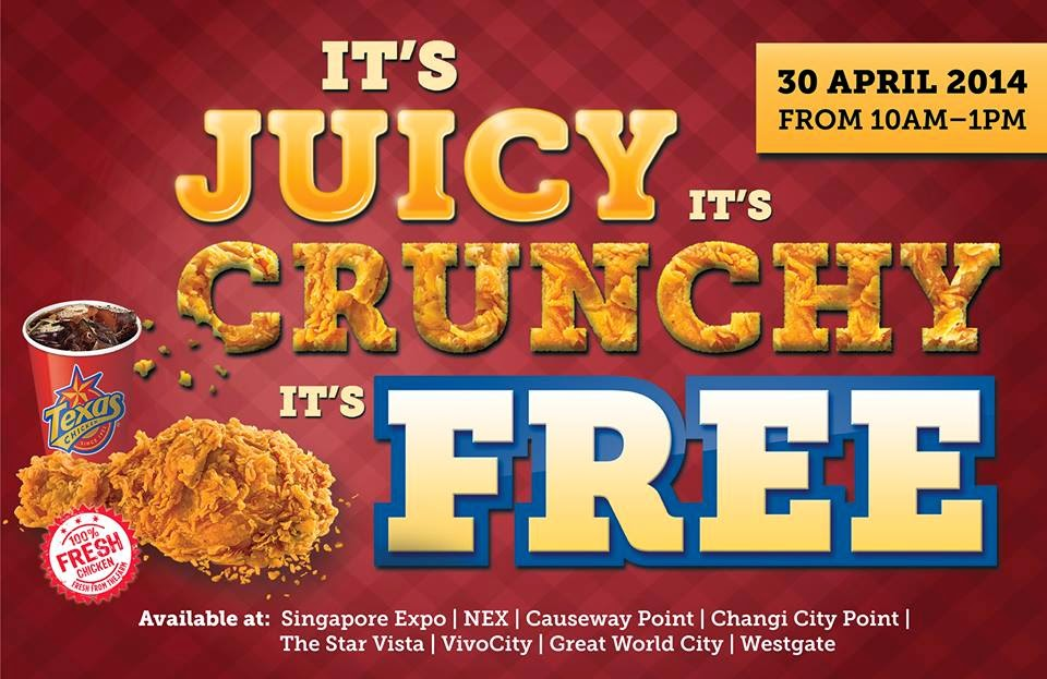 Texas Chicken Singapore Menu Texas Chicken Singapore Free