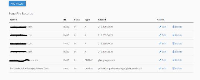 Setting DNS pada hosting howkshost
