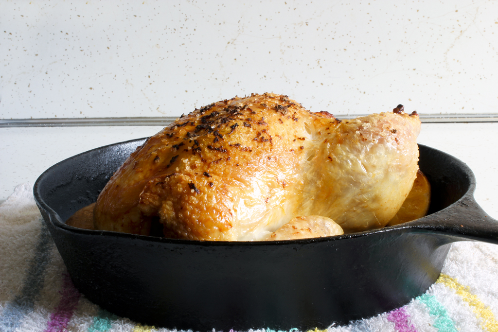 In case you didn't have a one foolproof way to roast a chicken, ...