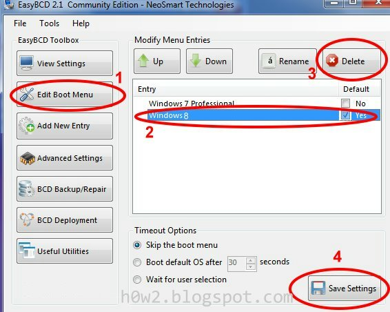 how to delete windows boot manager