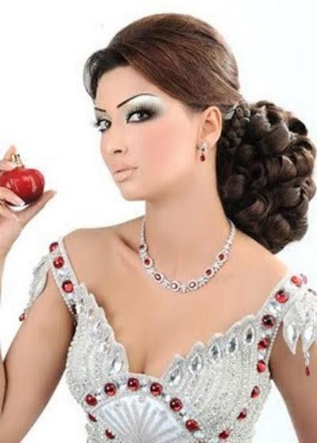 pakistani women long hair style