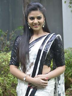 Srimukhi New Photos at Mrs Telangana Curtain Raiser Event