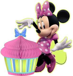 Disney Minnie Mouse Bow-tique Centerpiece