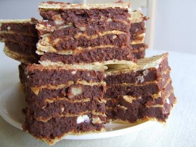 czekoladowe wafle