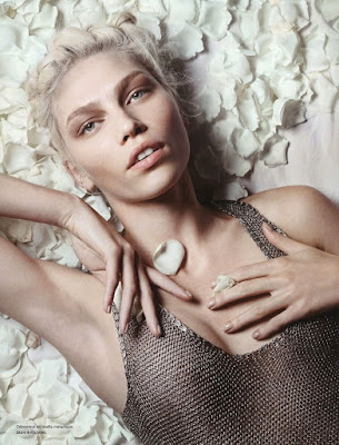 Aline Weber in Numero #132 April 2012 by Liz Collins