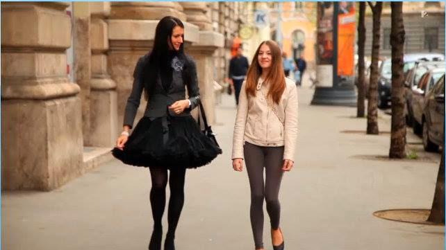 Fekete dolly pettiskirt a Tűsarok c. műsorban Körmendy-Szomorú Kata menyasszony styliston