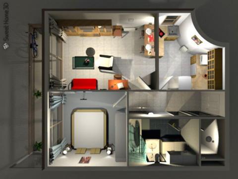 تحميل برنامج الرسم والتخطيط Sweet Home 3D 4.1