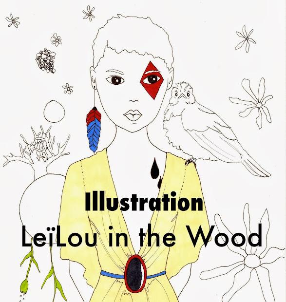Leïlou in the Wood