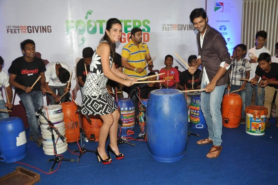 Purab Kohli & Tara Sharma at Footsteps Good's fund raiser event for NGO