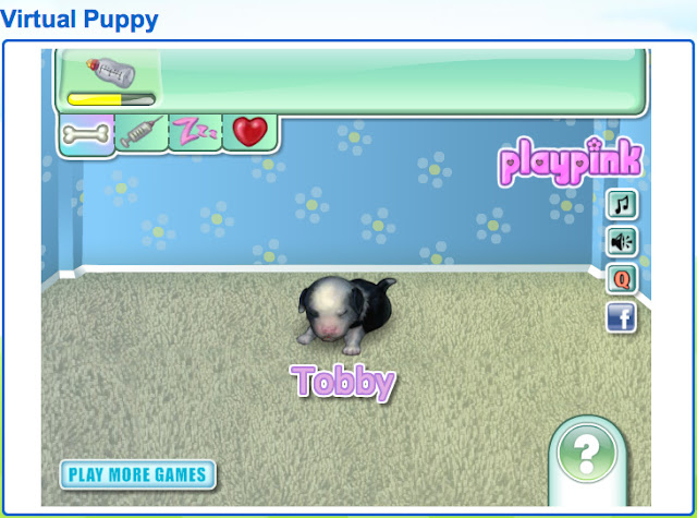 game to have a virtual dog