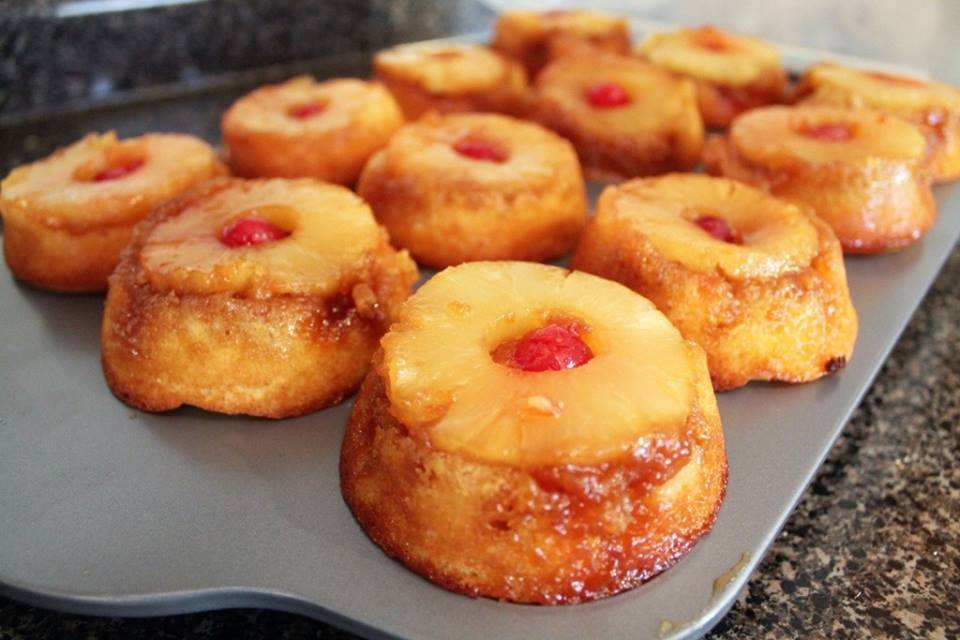 Pineapple Cupcakes With Cake Mix