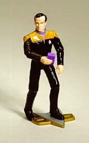 Star Trek Playmates Prototype Barclay 1701 Figure