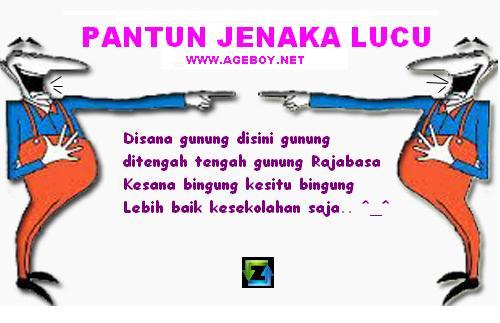 Pantun Lucu Indonesia