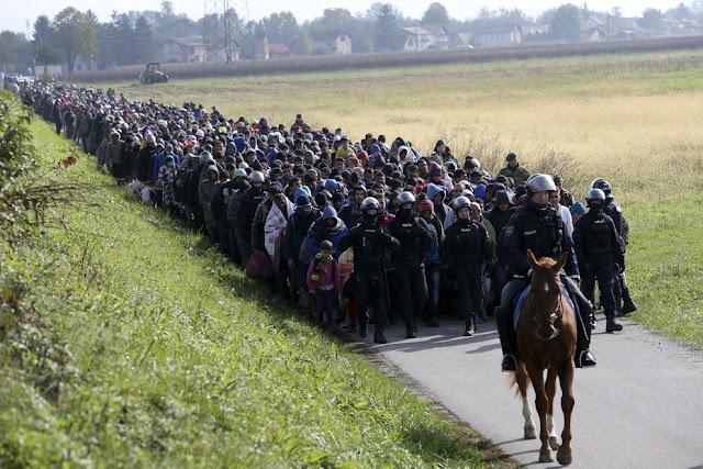 Third World migrant invasion