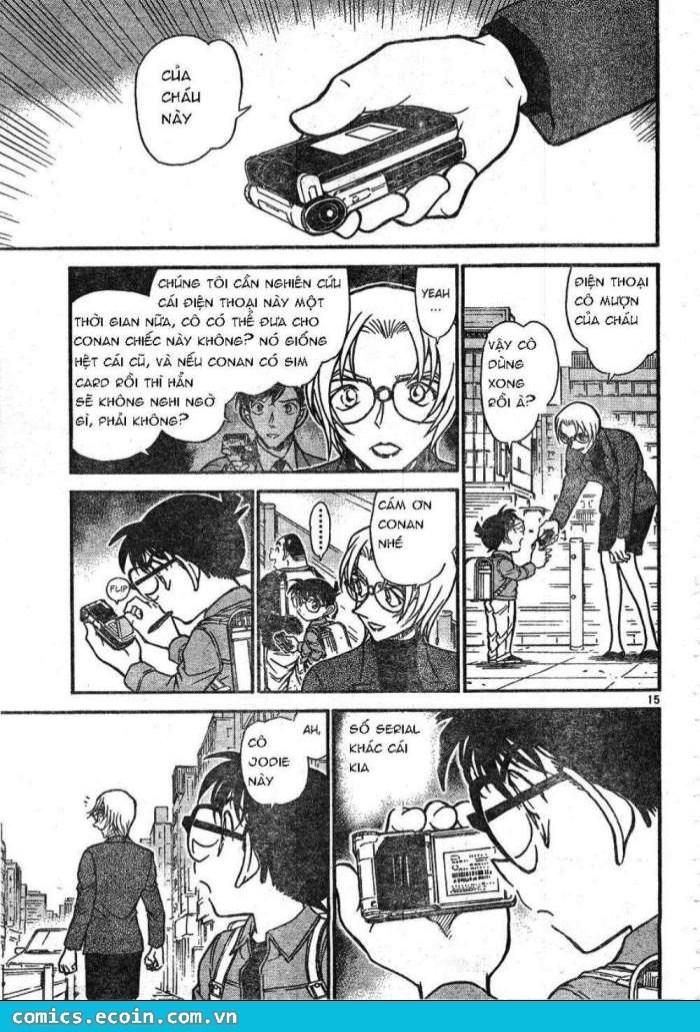 Detective Conan - Thám Tử Lừng Danh Conan chap 609 page 15 - IZTruyenTranh.com