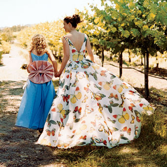 March 2012 for Butterfly back wedding dress