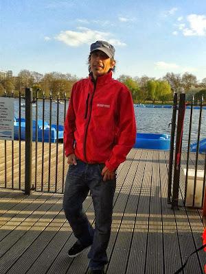 Español en Inglaterra trabajando en Hyde Park