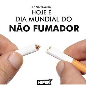 PELA SUA SAÚDE E PELA DAQUELES QUE O/A RODEIAM NÃO FUME