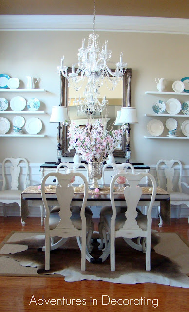 easterdiningoverall Traditional ranch style home tour in Myrtle Beach, SC