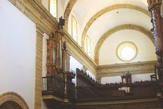monasterio de Corias, boveda iglesia