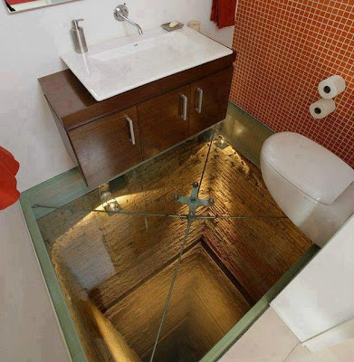絶壁トイレ